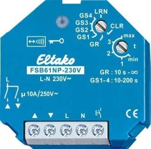 Eltako Funkaktor Stromstoß Gruppenschalter FSB61NP-230V