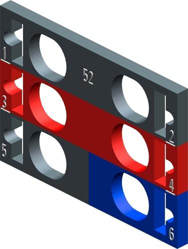 Siemens Indus.Sector Farbkennzeichnungsschilder f. Peripheriemodule 6ES71936CP522MC0VE10