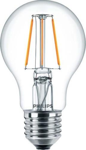 Philips Lighting LED-Lampe A60 E27 klar 2700K CLALEDBulb #80867200
