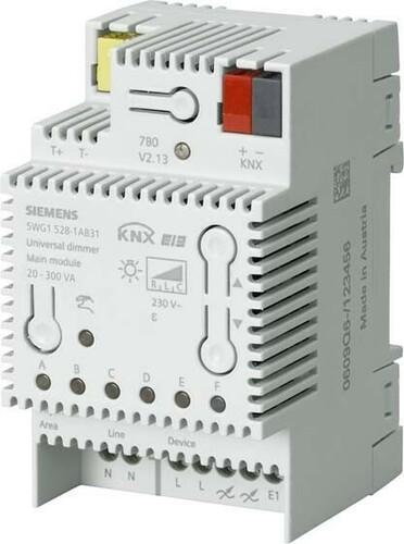 Siemens Indus.Sector Universal-Dimmer N528/31, 20-300VA 5WG1528-1AB31