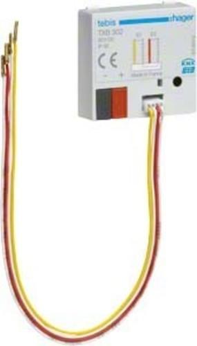 Hager Binäreingang KNX,2fach,UP TXB302