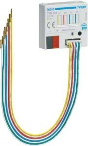 Hager Binäreingang KNX,4fach,UP TXB304