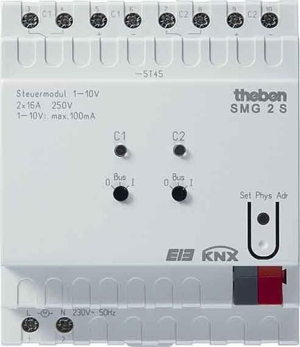Theben Steueraktor 2-Kanal, 1-10V SMG 2S KNX