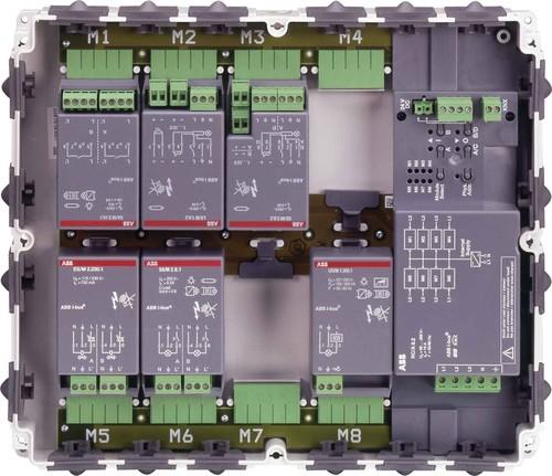 ABB Stotz S&J Raum-Controller Grundgerät 8-fach RC/A8.2