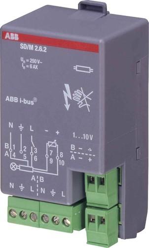 ABB Stotz S&J Schalt/Dimmaktor 2-fach, 6AX SD/M2.6.2