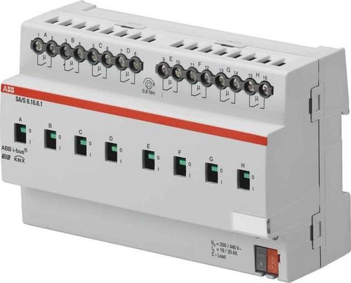ABB Stotz S&J Schaltaktor m.Stromerkenn. 2-fach 16/20 A REG SA/S2.16.6.1