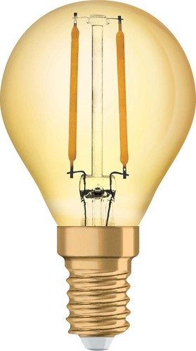 Osram LAMPE LED-Vintage-Lampe E14 2400K 1906LEDCP222,5824FGE