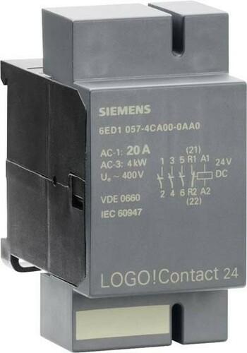 Siemens Indus.Sector LOGO!6/7 bis 20A 6ED1057-4CA00-0AA0