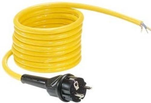 Gifas Electric Geräteanschlußleitung 5m 2x1,5qmm K 5 4215 LEUCHTFLEX