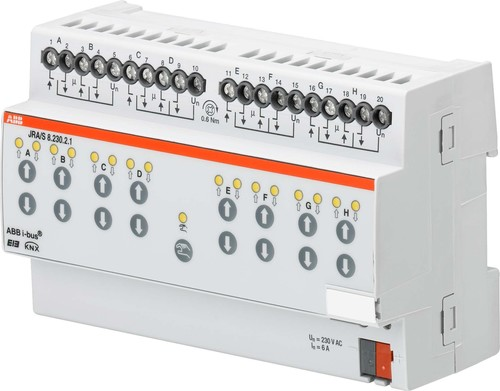 ABB Stotz S&J Jalousieaktor 8-fach 230VAC JRA/S8.230.2.1