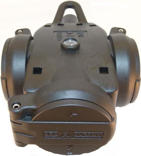 ABL Sursum 2KT-Schuko-3fach-Kupplung sw/sw 2,5 qmm 1173503