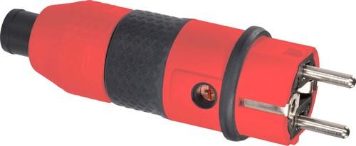 ABL Sursum 2KT-Schuko-Stecker rt/sw 2,5 qmm 1529140