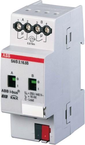 ABB Stotz S&J Schaltaktor 2F 16/20C-Load SA/S2.16.5.1
