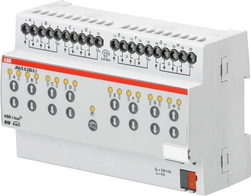 ABB Stotz S&J Jalousie-/Rollladenaktor m.Fahrzeitermittlung JRA/S8.230.5.1