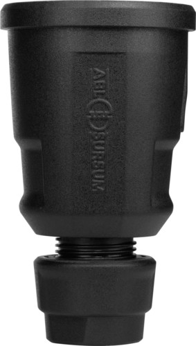 ABL Sursum Schuko-Kupplung 16A 250V schwarz B.Schutz 1579000