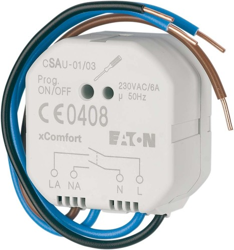 Eaton Schaltaktor potentialfrei 8A 230V AC CSAU-01/04