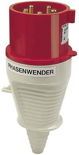 Walther Werke Phasenwender Stecker 32A 5P 400V 6h IP44 230 PH