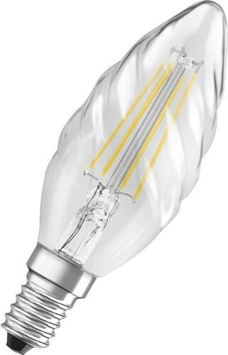 Osram LAMPE LED-Kerzenlampe E14 827 LEDPCLB404827FILE14