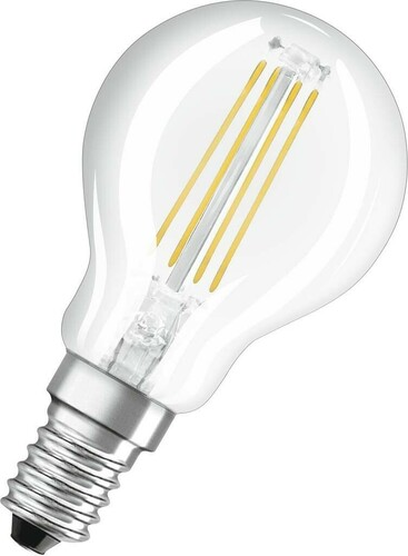 Osram LAMPE LED-Tropfenlampe E14 827 LEDPCLP404W827FILE14