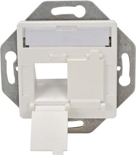 Corning Rahmenset 50x50 schräg 2x LANscape,RAL 9010 WAXWSE-S0201-C002