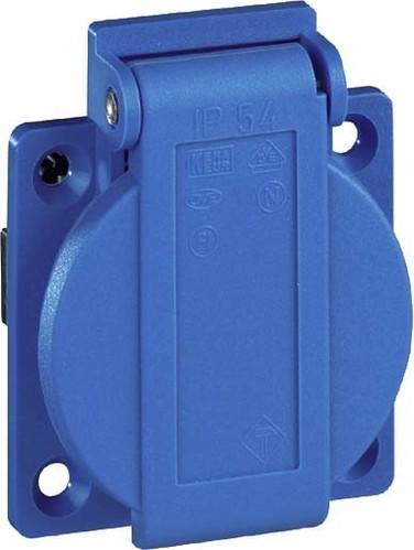 Walther Werke Schutzkontaktsteckdose 16A230V2P+E IP54 bl 10003
