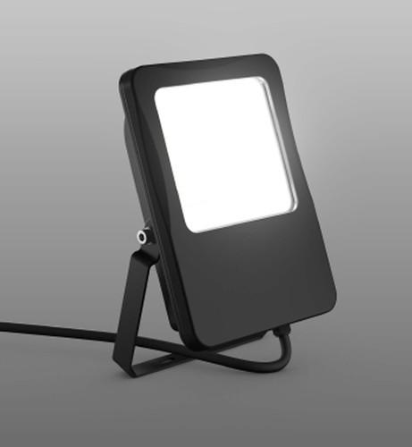 RZB LED-Fluter 4000K schwarz 722147.003