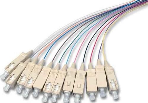 EFB-Elektronik SC Faserpigtail G50/125 2m, OM3 O3325.2 (VE12Satz)