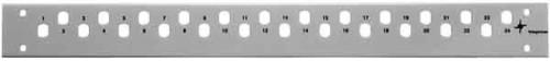 Telegärtner 19Z.Frontplatte 1HE für 12xST/Basiseco TN-FP12ST-Be-1HE