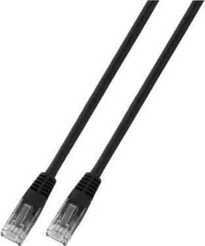 EFB-Elektronik Patchkabel Cat.5E 2xRJ45 mit UTP K8098.1m sw