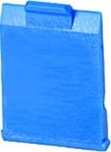 BTR NETCOM Staubschutzklappe E-DAT Modul blau 820394-0106-I