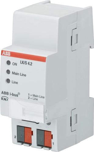 ABB Stotz S&J Linienkoppler I-Bus REG 2TE LK/S4.2