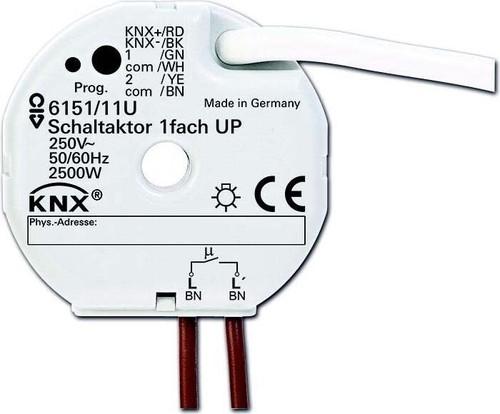 Busch-Jaeger Schaltaktor 1-fach ch, UP 6151/11 U