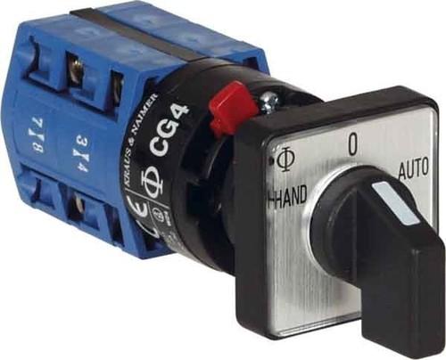 Kraus&Naimer Voltmeterumschalter mit 0-Stellung CG4 A004-624 FS2