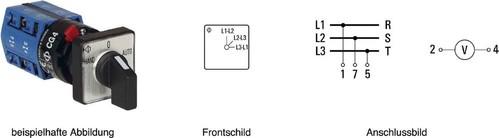 Kraus&Naimer Voltmeterumschalter ohne 0-Stellung CG4 A023-620 FS2