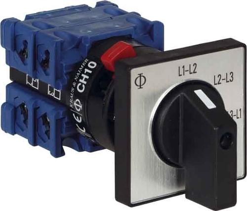 Kraus&Naimer Voltmeterumschalter ohne 0-Stellung CH10 A023-620 FT2