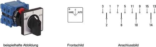Kraus&Naimer Umschalter 60Schaltwinkel,1pol CH10 A210-621 FT2