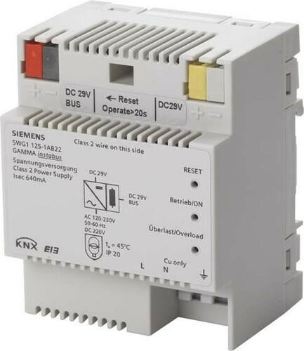 Siemens Indus.Sector Spannungsversorgung N125/22 640 MA 5WG1125-1AB22