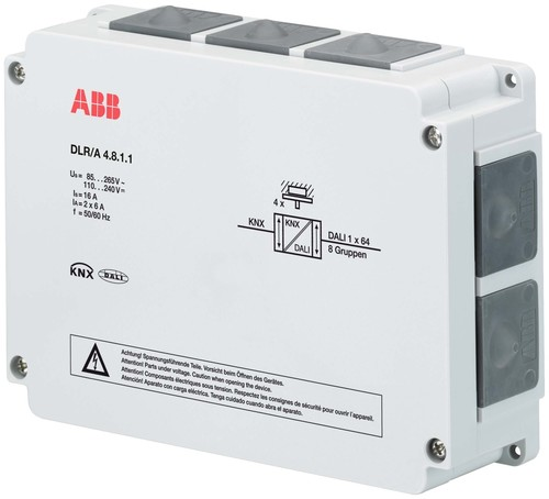 ABB Stotz S&J DALI Lichtregler 4-fach AP DLR/A4.8.1.1