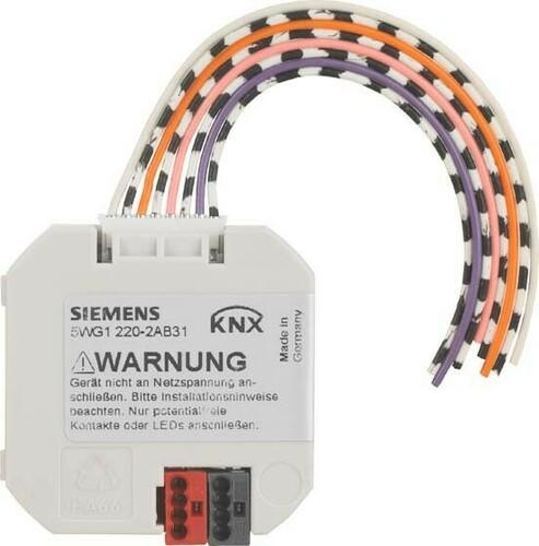 Siemens Indus.Sector Tasterschnittstelle 4-Fach 5WG1220-2DB31