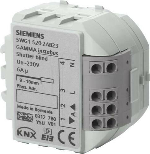 Siemens Indus.Sector Jalousieaktor 1x6A 230VAC 5WG1520-2AB23