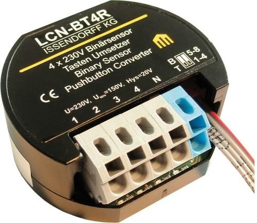 Issendorff Tastenumsetzer/Binäreing. 4x 230V, UP-Dose LCN - BT4R