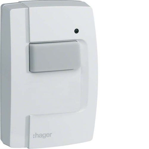 Hager Funk KNX AP Tastsensor 1-fach IP55,quicklink TRE301