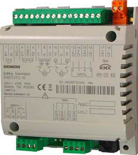 Siemens Indus.Sector Raum-Controller 3-Stuf.Ventilator BPZ:RXB21.1/FC-11