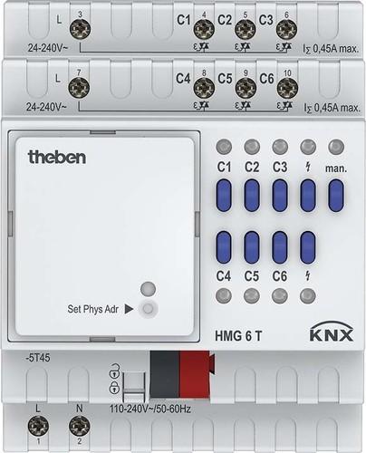 Theben Heizungsaktor MIX2,Grundmodul HMG 6 T KNX