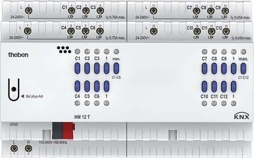 Theben Heizungsaktor FIX2 Modul, KNX HM 12 T KNX
