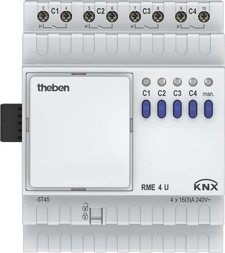 Theben Schaltaktor 4-fach Erweiterung RME 4 U KNX