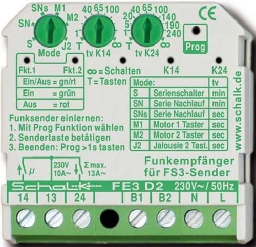 Schalk Funk-Empfängerschalter FE3 D2
