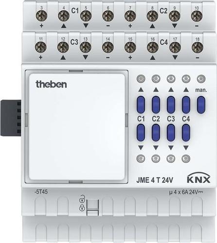 Theben Jalousieaktor Erweiterung JME 4 T 24V KNX
