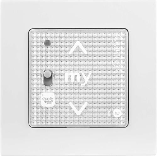 Somfy Funkwandsender IN io SilverShine Smoove RS100#1811320