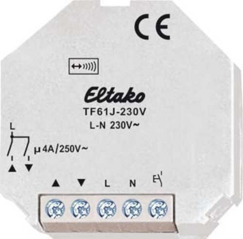 Eltako Tipp-Funk Jalousieaktor für 1 Motor 4A/250 TF61J-230V